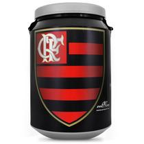 Cooler Térmico Rubro Negro 24 Latas Bebidas Flamengo Protork