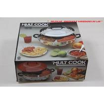 Panela Churrasqueira 4 Em 1 - Mult - Cook P/ Boca De Fogão
