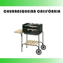 Churrasqueira Bafo Moldada Suporte Preço Grill Portátil #49j