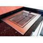 Churrasqueira De Embutir Elétrica Aço Inox 304 - Prática