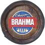 Tampa De Barril Decorativa Grande - Chopp Da Brahma