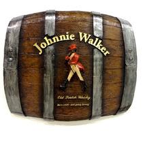 Quadro Barril Horizontal Johnnie Walker - Frete Grátis