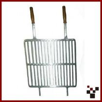Grelha Churrasco Alumínio Fundido 40 X 41 Cm