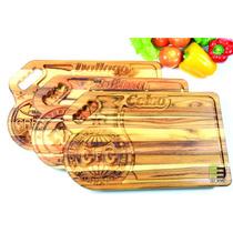 Tabua De Carne Personalizada, Churrasco, Time, 47x30x2cm