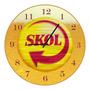 Relógio De Parede-cerveja Skol-vintage-bar-churrasco
