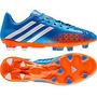 Chuteira Adidas Predator Fg Lethal Zones Azul/laranja Nº38