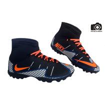 Chuteira Nike Magista Cano Alto Hyper Society Frete Gratis
