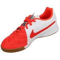 Chuteira Futsal Nike Jr. Tiempo Genio Leather Ic Original