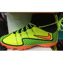 Chuteira Nike Cano Alto Mercurial Verde Super Promoção !!