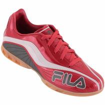 Tênis De Futsal Chuteira Fila Red Agile Indoor - Dicastros