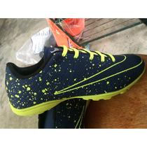 Chuteira Nike Tênis Society Mercurial Hypervenon