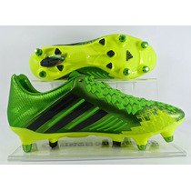 Chuteira Adidas Predator Lz Sg Pro Trava Mista 100% Original