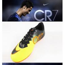 Chuteiras Campo Nike Mercurial Cr7 Tenis Promoção C. Ronaldo