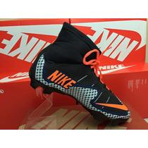 Chuteira Nike Mercurial Superfly Cano Alto Lançamento