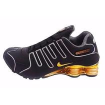 Tenis Nike Shox Nz Cromado Varias Cores