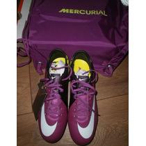 Chuteira Nike Mercurial Vapor Fg Pro Neymar Cr7 - Original