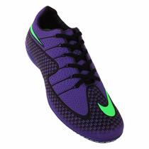 Chuteira Futsal Nike V Bomba Pro Ii - Roxo E Verde !!!