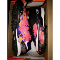 Chuteira Society Nike Mercurial Cr7 Vortex 2 T.40 Original