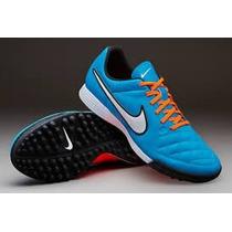 Chuteira Nike Tiempo Genio Leather Tf Couro