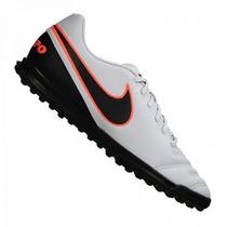 Chuteira Nike Tiempo Rio 3 Tf Society Original