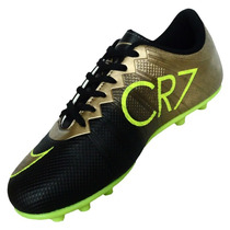 Chuteira Campo Nike Mercurial Superfly Cr7 Frete 1 Real
