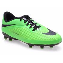 Chuteira Nike Infantil Jr Hypervenom Phelon Fg Campo Neymar