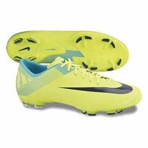 Chuteira Nike Mercurial Victory Iii Fg Semi Pro Cravos Verde