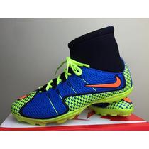 Chuteira Tenis Nike Futebol Society Botinha Cano Longo
