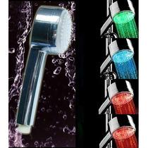 Chuveirinho Ducha Sensor De Temperatura De Luz Led 4 Cores