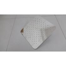 Ducha Slim De Inox 50cm X 50cm Quadrado Cromado