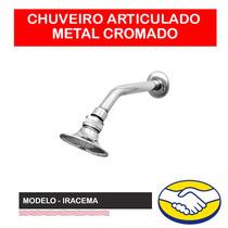 Chuveiro Ou Ducha Articulado Todo Em Metal Cromado