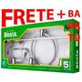 Kit 5 Pçs Acessórios P/ Banheiro Alumínio E Abs-frete+barato