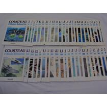Coleção Cousteau O Mundo Submarino Ano 1983 Editora Salvat