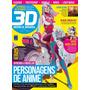 Personagens De Anime Revista 3d World Brasil 18