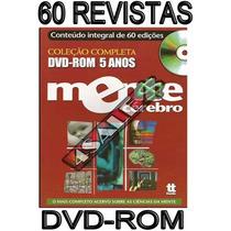 60 Revistas Dvd-rom Mente E Cerebro 5 Anos Coleção Duetto