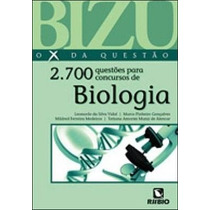 Bizu De Biologia - 2.700 Questões Para Concursos De Biologia