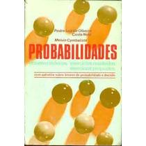 Probabilidades - Pedro Luiz Oliveira