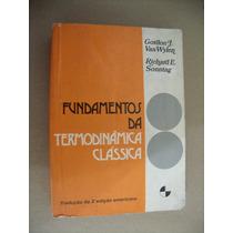 Fundamentos Termodinâmica Clássica Gordon Van Wylen Richard