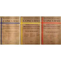 Matemática Para Concurso 847 Exercícios Resol. Passo A Passo