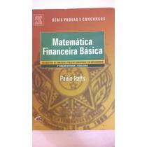 Livro Matemática Financeira Básica Concursos - Elsevier