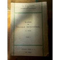 Livro: Lições De Cálculo Infinitesimal
