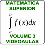 Curso Matemática Superior Cálculo 1, 2, 3 Videoaulas 10 Dvds