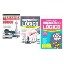 Coleção 3 Livros Raciocínio Lógico E Sua Mente Geek Editora