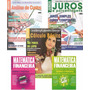 Kit 5 Revistas Matemática Financeira Custo Juros Hp12c Excel