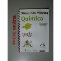 Livro Olimpíada Mineira De Química - Ensino Médio E ...