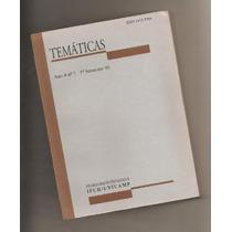 Livro Temáticas Ano 4 - N. 7 - 1996 - Ifch - Unicamp