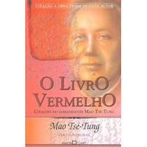 O Livro Vermelho De Mao Tsé-tung - Novo