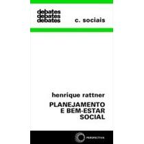 Planejamento E Bem-estar Social, Henrique Rattner