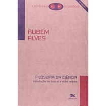 Livro Filosofia Da Ciência De Rubem Alves - Novo
