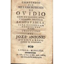Compendio Das Metamorphoses De Ovidio - 1772